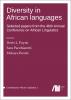 Contemporary African Linguistics