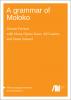 Cover for A grammar of Moloko