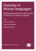 Cover for Forthcoming: Diversity in African languages: Selected papers from the 46th Annual Conference on African Linguistics