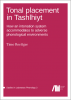 Cover for  Tonal placement in Tashlhiyt: How an intonation system accommodates to adverse phonological environments