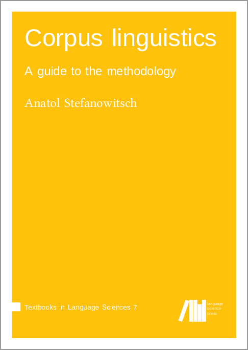 Cover for  Corpus linguistics: A guide to the methodology