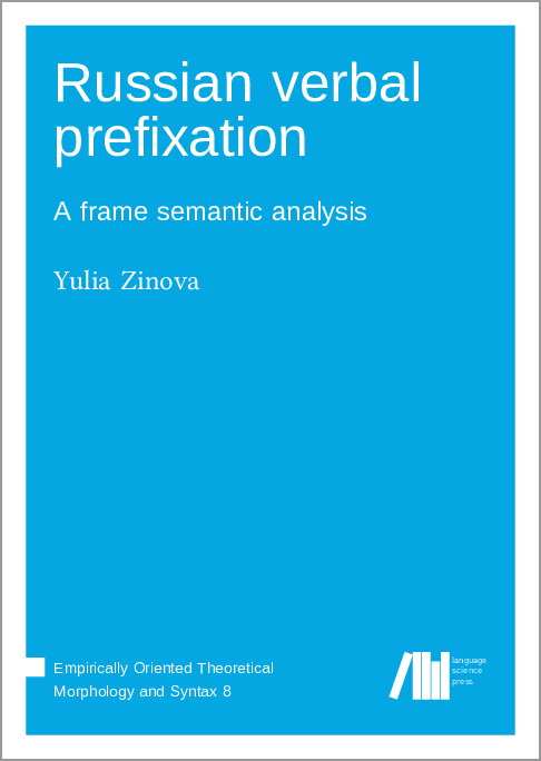 Cover for Forthcoming: Russian verbal prefixation: A frame semantic analysis