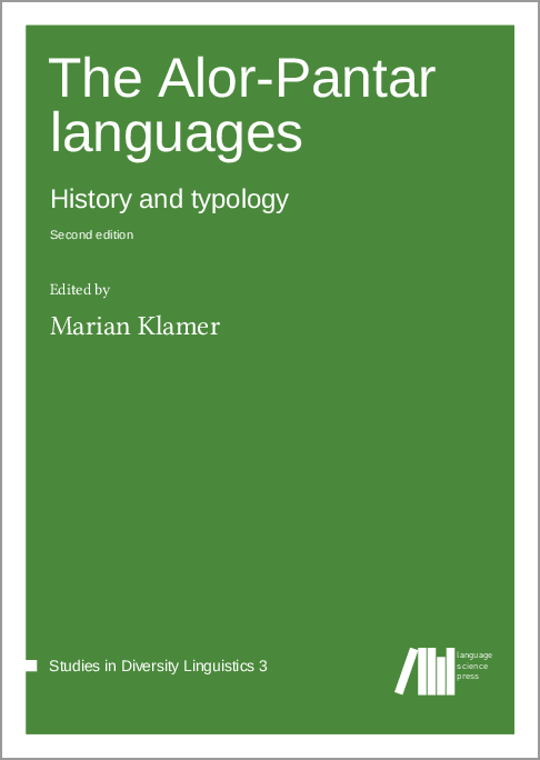 Cover for The Alor-Pantar languages: History and typology. Second edition.