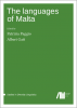 Cover for The languages of Malta