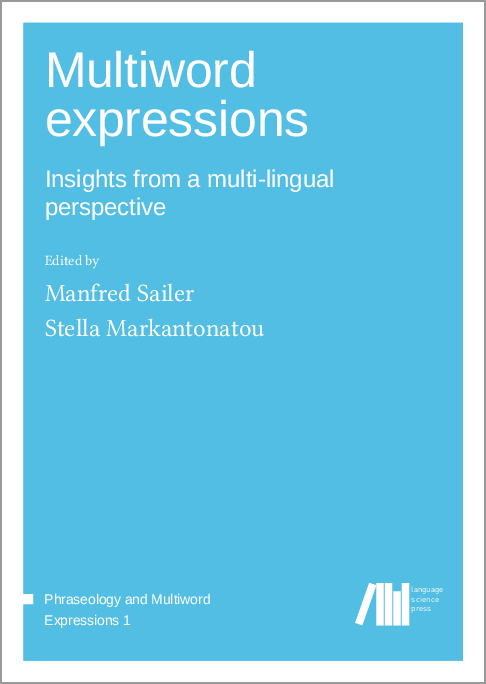 Cover for  Multiword expressions: Insights from a multi-lingual perspective