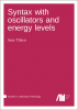 Cover for  Syntax with oscillators and energy levels