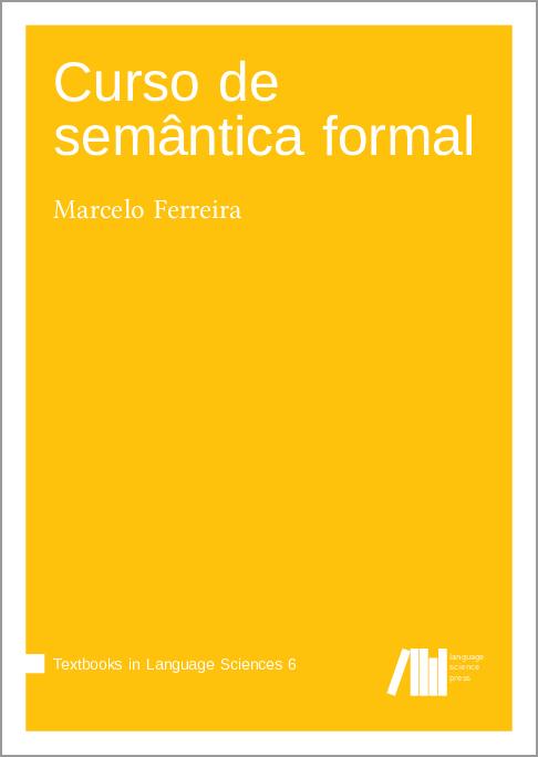 Cover for  Curso de semântica formal