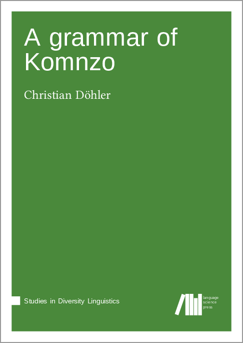 Cover for A grammar of Komnzo