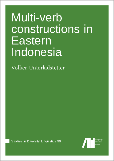 Cover for  Multi-verb constructions in Eastern Indonesia