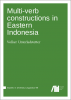 Cover for Forthcoming: Multi-verb constructions in Eastern Indonesia