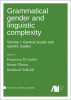 Cover for Forthcoming: Grammatical gender and linguistic complexity