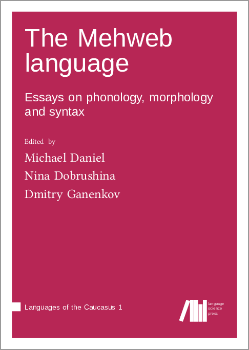 Cover for Forthcoming: The Mehweb language