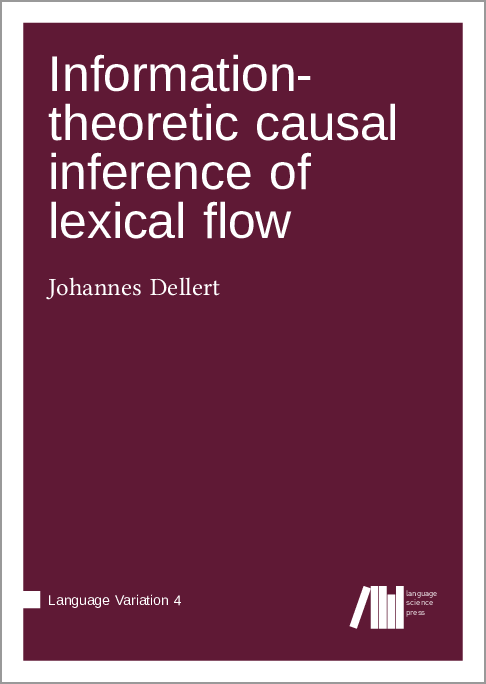 Cover for Forthcoming: Information-theoretic causal inference of  lexical flow
