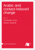 Cover for  Arabic and contact-induced change