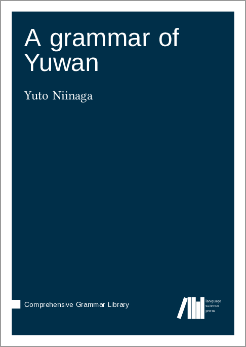 Cover for Forthcoming: A grammar of Yuwan