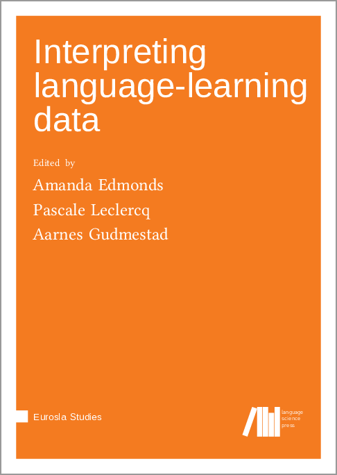 Cover for  Interpreting language-learning data