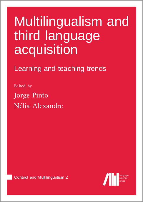 Cover for Forthcoming: Multilingualism and third language acquisition: Learning and teaching trends
