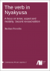Cover for  The Verb in Nyakyusa: A focus on tense, aspect, and modality (Second edition)