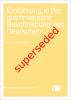 Cover for Superseded: Einführung in die grammatische Beschreibung des Deutschen