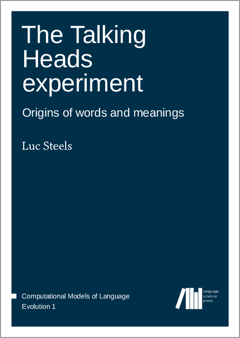 Cover for The Talking Heads experiment: Origins of words and meanings