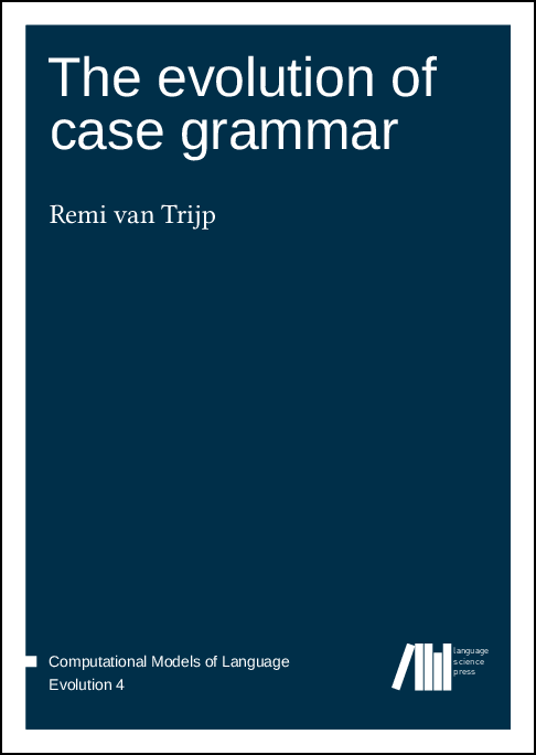 Cover for The evolution of case grammar