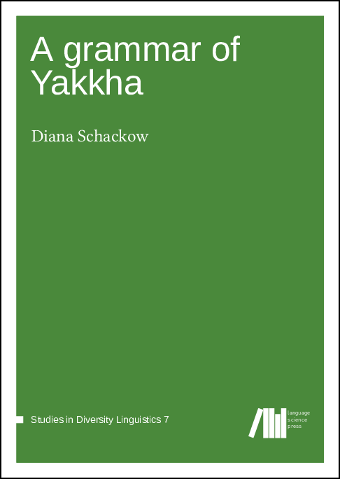 Cover for A grammar of Yakkha