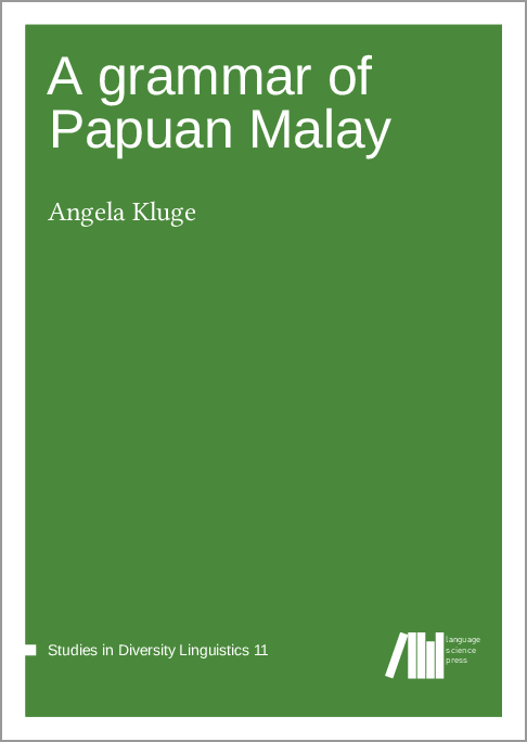 Cover for A grammar of Papuan Malay