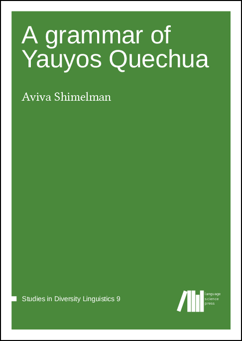 Cover for A grammar of Yauyos Quechua