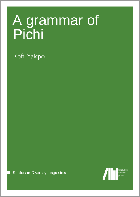 Cover for Forthcoming: A grammar of Pichi
